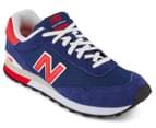 New Balance Men's 515 Classic Sneaker - Navy/Red  2