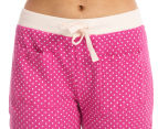 Lovable Women's Rosabel PJ Pant - Very Berry/Almost Mauve 3