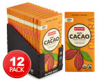 12 x Alter Eco Dark Cacao Chocolate Bars 80g 1