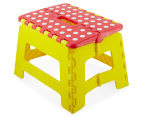 Plastic Folding Step Stool - Red 3