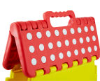 Plastic Folding Step Stool - Red 4