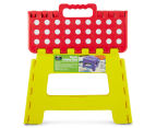 Plastic Folding Step Stool - Red 6