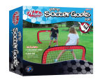 Wahu Pop Up Soccer Goals Set - Red 1