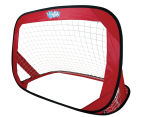 Wahu Pop Up Soccer Goals Set - Red 4