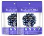 2 x Blackmores Superfood Wild Blueberry Blend Powder 90g 1