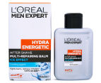 2 x L'Oréal Men Expert Hydra Energetic After Shave Balm 100mL 1