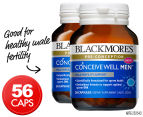 2 x Blackmores Conceive Well Men 28 Caps 1