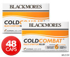 2 x Blackmores Cold Combat Multi Symptom Relief 24 Caps 1