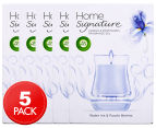 5 x Air Wick Home Signature Candle & Fragrance Gel Water Iris & Purple Berries 130g 1