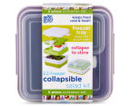 Cool Gear EZ-Freeze Collapsible Salad Kit - Purple 6