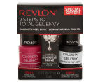 Revlon ColorStay Gel Envy Long Wear Nail Enamel & Top Coat - Vegas, Baby 1
