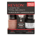 Revlon ColorStay Gel Envy Long Wear Nail Enamel & Top Coat - Perfect Pair 1