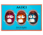 Miki Clever Fox Lip Gloss 3-Pack 2