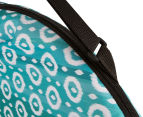 Cooper & Co. Geo Ikat Foldable Beach Chair - Turquoise/White 6
