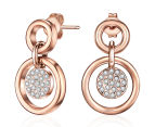 Mestige Adele Earrings w/ Crystals from Swarovski - Rose Gold 1