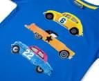 Urban Crusade Junior Boys' Car Print Tee - Blue 3