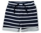 BQT Baby's Elephant Top & Shorts 2-Piece Set - Denim/Blue Marle 4
