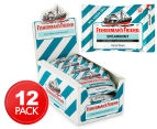 12 x Fisherman's Friend Spearmint Freshmints 25g 1