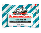 12 x Fisherman's Friend Spearmint Freshmints 25g 2