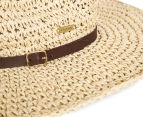 Rusty Sea Change Straw Hat - Natural  5