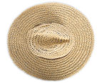 Rusty Sea Change Straw Hat - Natural  6
