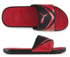 Puma Men's Starcat Pro Sandals - Black/Cherry Red 1