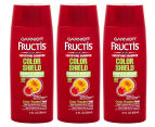 3 x Garnier Fructis Color Shield Fortifying Shampoo 89mL 1