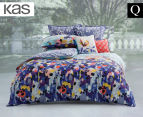 KAS Emery Queen Bed Quilt Cover Set - Multi 1