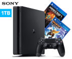 Sony Playstation 4 1TB Slim D Chassis Console + Minecraft + Rachet & Clank Game Bundle 1