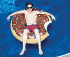 BigMouth Inc. Giant Chocolate Donut Pool Float - Brown 5