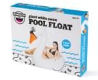 BigMouth Inc. Giant White Swan Pool Float - White/Orange 6