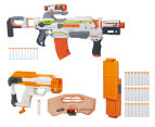 NERF Modulus Blaster + Shield Upgrade + Flip Clip Upgrade Kit 1