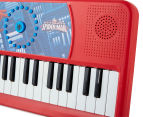 The Ultimate Spiderman Classic Electric Keyboard - Red/Blue 2