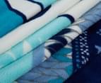 Disney Frozen 127x152cm Polar Fleece Throw - Blue 3