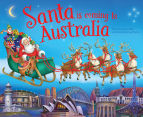 Santa Is Coming To Australia Book 1