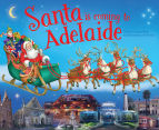 Santa Is Coming To Adelaide Book 1