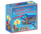 Santa Is Coming To Western Australia Book And Floor Puzzle 1