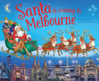 Santa Is Coming To Melbourne Book 1