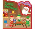 Santa's Workshop Foam Shaped Book 1