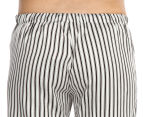 Deshabillé Women's Splendid PJ Pant - Black/White 4