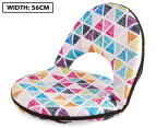 Cooper & Co. Triangle Foldable Beach Chair - Multi 1