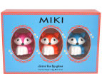 Miki Clever Fox Lip Gloss 3-Pack 1