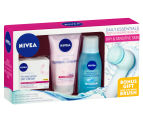 Nivea Daily Essentials Deep Cleansing Facial Kit For Dry & Sensitive Skin  1
