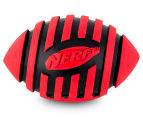 NERF Dog Medium Squeaker Football Toy - Red 2