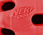 NERF Dog Small Crunchable Football Toy - Red 5