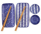 Equip Asian Dining 6-Piece Set - Blue/White 5