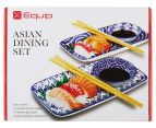 Equip Asian Dining 6-Piece Set - Blue/White 6