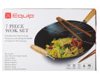 Equip 7-Piece Wok Set - Black 6