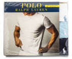 Polo Ralph Lauren Men's Cotton Crew Tees 3-Pack - White/Blue/Navy 6