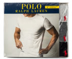 Polo Ralph Lauren Men's Cotton Crew Tees 3-Pack - Black/Grey/Gunmetal Grey 6
